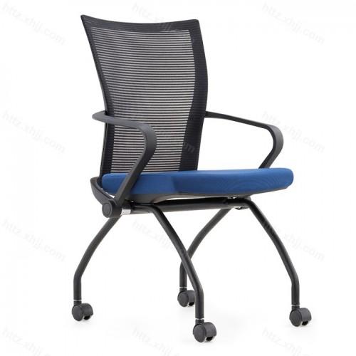网布会议椅移动办公电脑椅 透气现代培训椅34