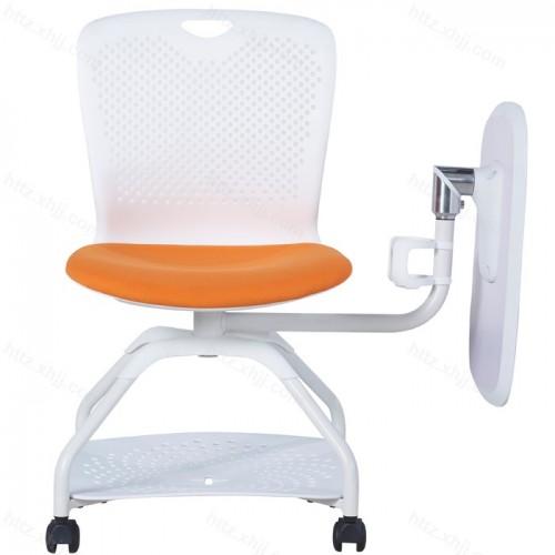 简约带写字板培训椅发布会记者椅32