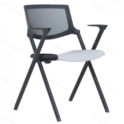 折叠培训椅带写字板会议椅办公多功能椅31