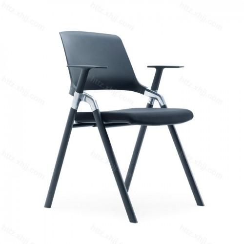 简约写字板培训椅靠背椅 14