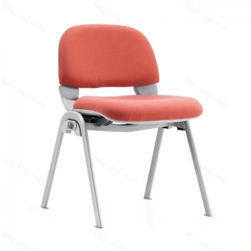 办公职员椅 四脚会议椅带写字板培训椅12