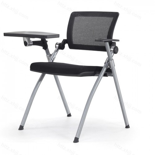 多功能培训椅 带写字板简约会议椅10