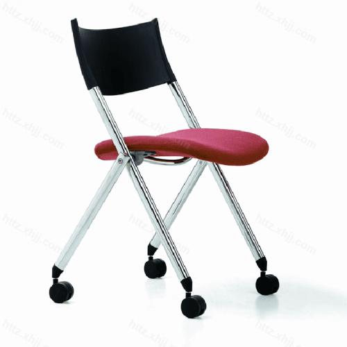 折叠电脑椅 办公室带写字板培训椅会议椅08