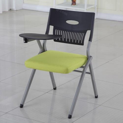 办公室带写字板培训椅会议椅07