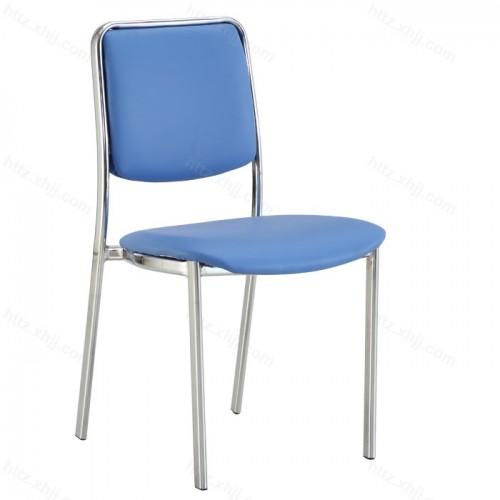 多功能办公室带写字板可移动培训椅会议椅05