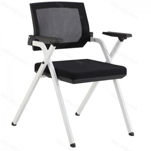 简约网布办公室可移动培训椅会议椅03