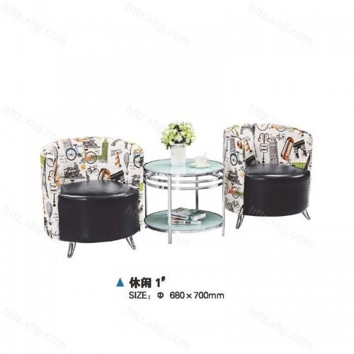 洽谈桌椅接待组合会议沙发04