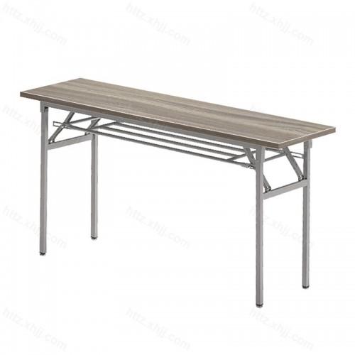 可折叠长条桌培训桌面试桌会议桌03