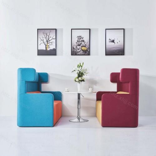 现代时尚简约个性创意休闲沙发12
