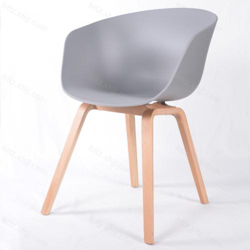 北欧风现代简约电脑椅洽谈椅02