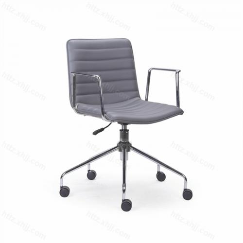 靠背可移动办公椅 会议椅子 洽谈椅06