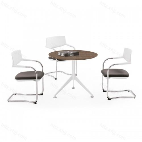 简约 会客桌 洽谈圆桌 会议桌05