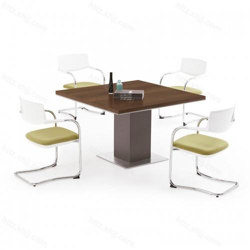 简约 会客桌 洽谈方桌 会议桌06