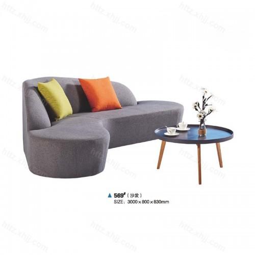 简约布艺沙发创意时尚沙发21