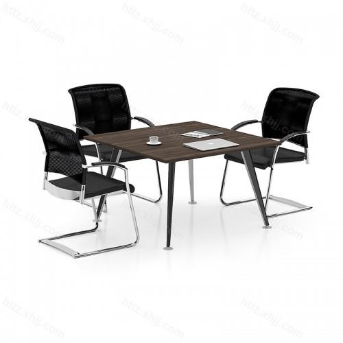 简约时尚 正方形 洽谈桌会客桌 会议桌08