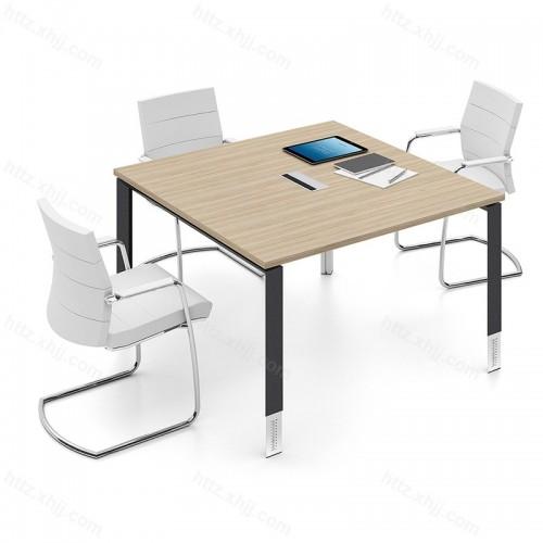 简约时尚 正方形 洽谈桌会客桌 会议桌09
