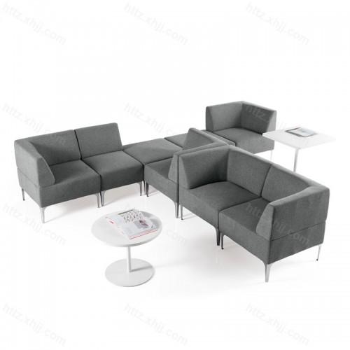 时尚创意办公会客接待布艺沙发套装08