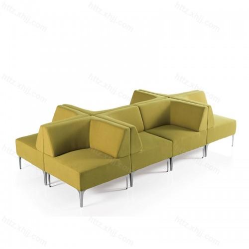 创意办公休闲接待沙发会客洽谈沙发09