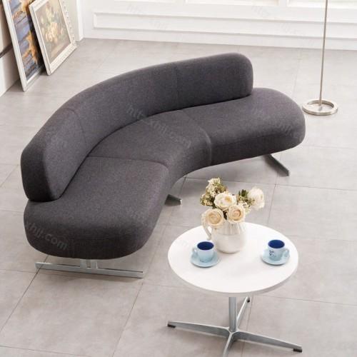 创意办公弧形接待沙发会客洽谈沙发10