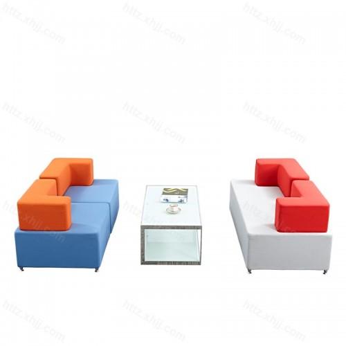 创意简约时尚办公会客沙发14
