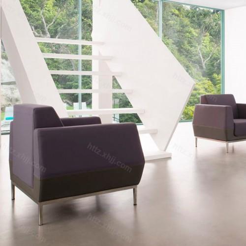 创意简约时尚办公会客沙发套装15