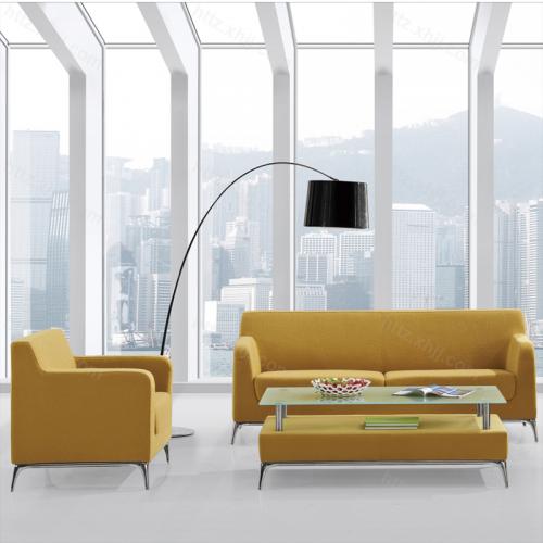 创意简约时尚办公会客接待沙发套装16