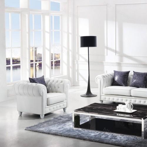 北欧风格办公沙发接待室会客室商务沙发16