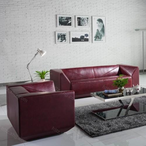 商务办公沙发茶几组合 会客区沙发38