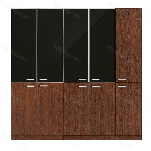 板式木质带锁资料柜 档案储物柜08
