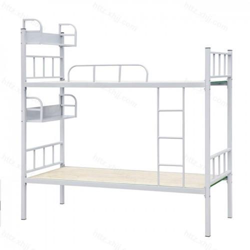双层床高低床上下铺铁架床带置物架05