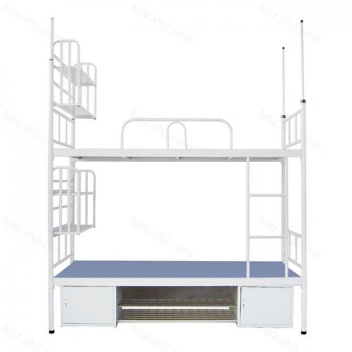 多功能双层床高低床上下铺铁架床09