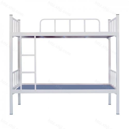 简易双层床高低床上下铺铁架床10