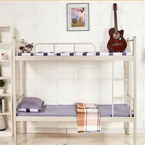 简易双层床高低床上下铺铁架床12