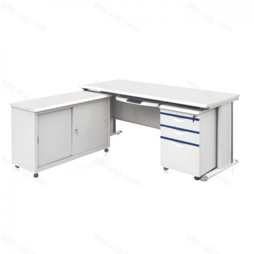 钢制电脑桌 L型电脑桌 办公桌01
