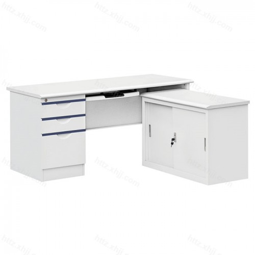 钢制桌 写字桌 办公桌 L型电脑桌02