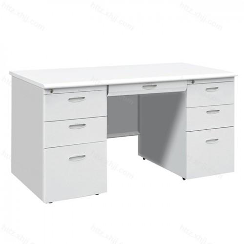 钢制办公桌电脑桌带抽屉12