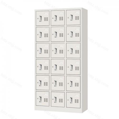 钢制十八门更衣柜储物柜01