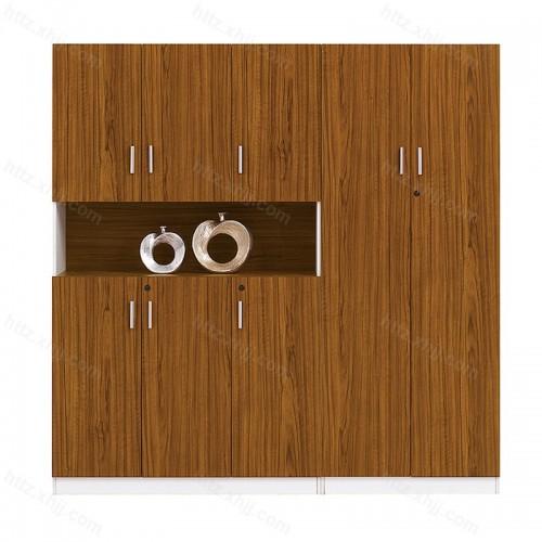 木质文件柜 背景书柜13