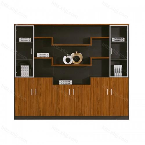 办公家具落地文件柜简约现代老板桌书柜16