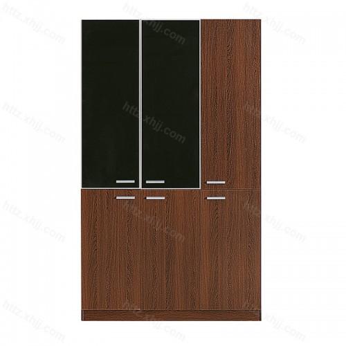 办公室文件柜木质隔断书柜资料柜展示柜子29