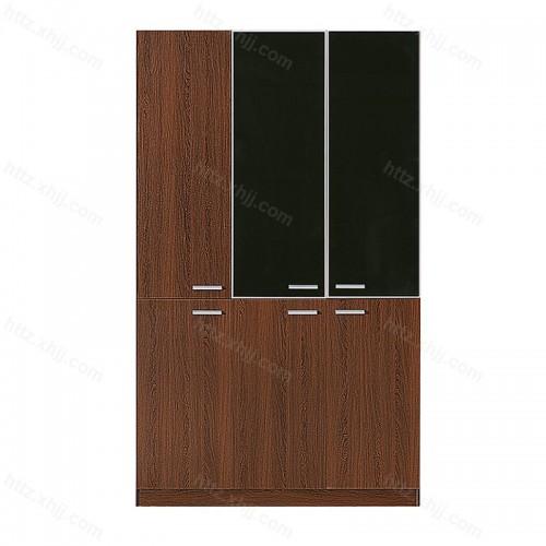 办公室文件柜木质隔断书柜资料柜展示柜子30
