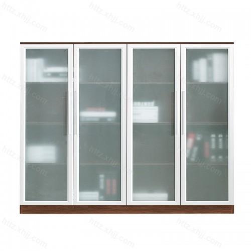 钢制文件柜铁皮柜通体玻璃柜档案柜31