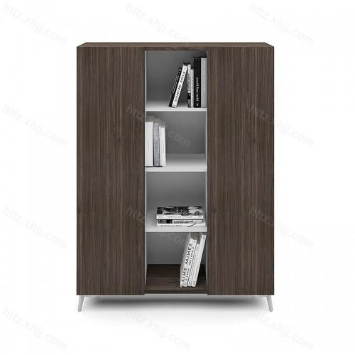 办公室木质创意书柜两开门文件柜56