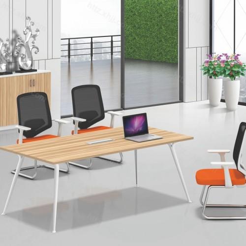 办公家具简约现代会议桌椅长条办公桌洽谈桌椅01
