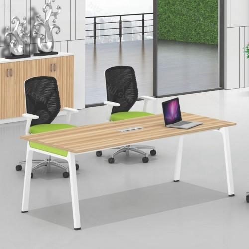 办公家具简约会议桌椅长条办公桌洽谈桌椅03