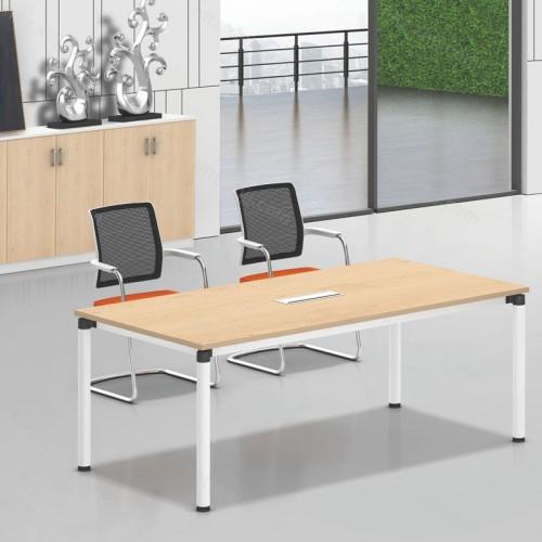 办公家具简约会议桌椅长条办公桌洽谈桌椅04