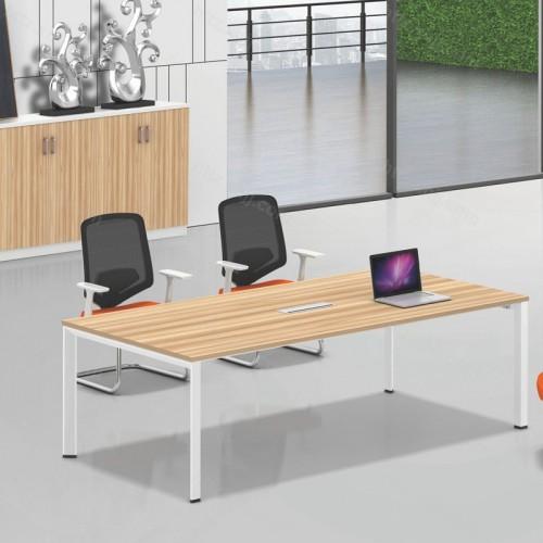 办公家具简约长方形会议桌椅办公洽谈桌椅06