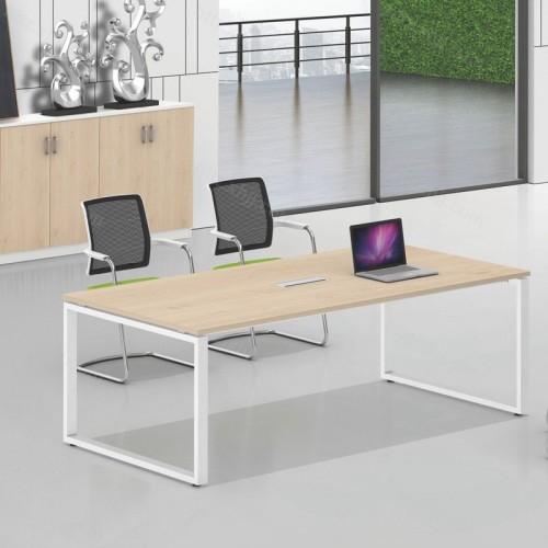 简约办公小型长方形会议桌11