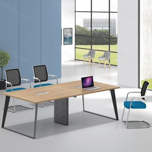 简约钢木培训桌 职员洽谈办公桌 15