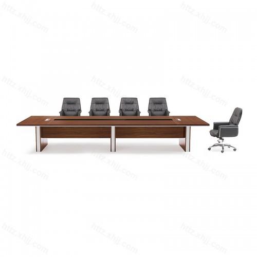 办公家具大型会议桌简约现代洽谈桌办公桌椅19